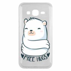 Чохол для Samsung J5 2015 Free hugs bear