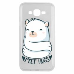Чохол для Samsung J7 2015 Free hugs bear