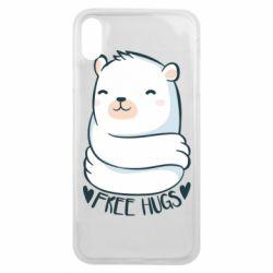 Чохол для iPhone Xs Max Free hugs bear