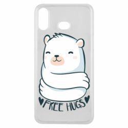 Чохол для Samsung A6s Free hugs bear