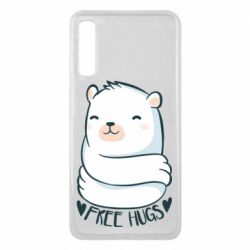 Чохол для Samsung A7 2018 Free hugs bear