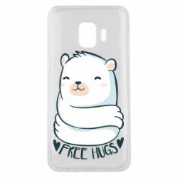 Чохол для Samsung J2 Core Free hugs bear