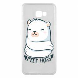 Чохол для Samsung J4 Plus 2018 Free hugs bear