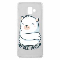 Чохол для Samsung J6 Plus 2018 Free hugs bear