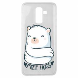 Чохол для Samsung J8 2018 Free hugs bear