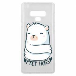 Чохол для Samsung Note 9 Free hugs bear