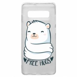 Чохол для Samsung S10+ Free hugs bear