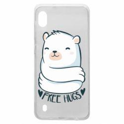 Чохол для Samsung A10 Free hugs bear