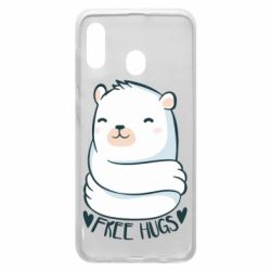 Чохол для Samsung A30 Free hugs bear