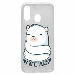 Чохол для Samsung A40 Free hugs bear
