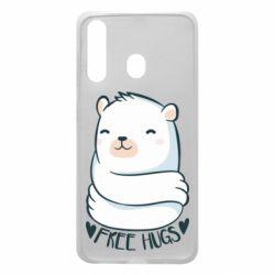Чохол для Samsung A60 Free hugs bear