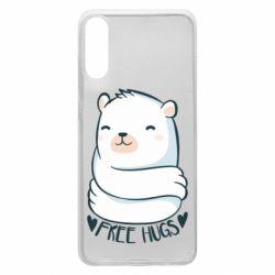 Чохол для Samsung A70 Free hugs bear