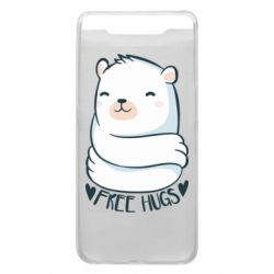 Чохол для Samsung A80 Free hugs bear
