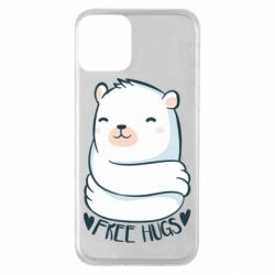 Чохол для iPhone 11 Free hugs bear