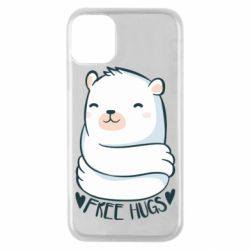 Чохол для iPhone 11 Pro Free hugs bear