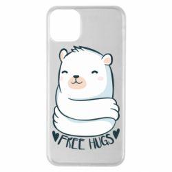 Чохол для iPhone 11 Pro Max Free hugs bear