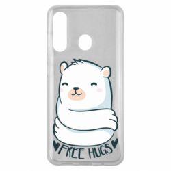 Чохол для Samsung M40 Free hugs bear