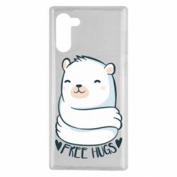 Чохол для Samsung Note 10 Free hugs bear
