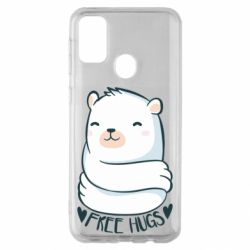 Чохол для Samsung M30s Free hugs bear