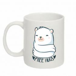 Кружка 320ml Free hugs bear