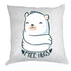 Подушка Free hugs bear