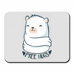Килимок для миші Free hugs bear