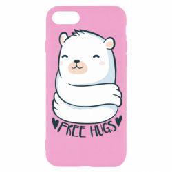 Чохол для iPhone 7 Free hugs bear