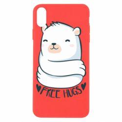 Чохол для iPhone X/Xs Free hugs bear