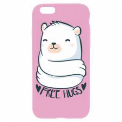 Чохол для iPhone 6/6S Free hugs bear