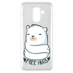 Чохол для Samsung A6+ 2018 Free hugs bear