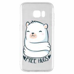 Чохол для Samsung S7 EDGE Free hugs bear