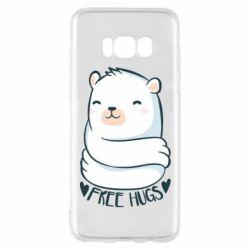 Чохол для Samsung S8 Free hugs bear