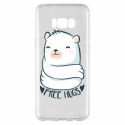 Чохол для Samsung S8+ Free hugs bear