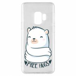 Чохол для Samsung S9 Free hugs bear