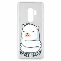 Чохол для Samsung S9+ Free hugs bear