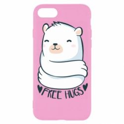 Чохол для iPhone 8 Free hugs bear