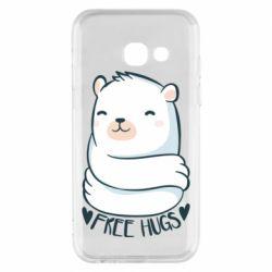 Чохол для Samsung A3 2017 Free hugs bear