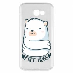Чохол для Samsung A7 2017 Free hugs bear