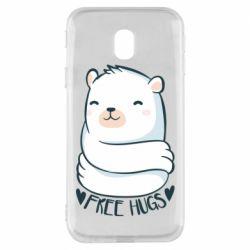 Чохол для Samsung J3 2017 Free hugs bear