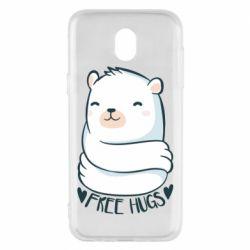 Чохол для Samsung J5 2017 Free hugs bear