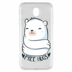 Чохол для Samsung J7 2017 Free hugs bear
