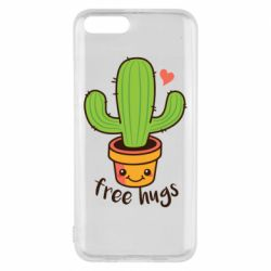 Чехол для Xiaomi Mi6 Free Hugs Cactus