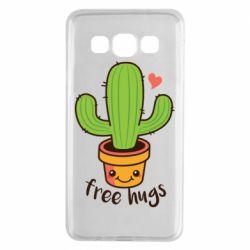 Чехол для Samsung A3 2015 Free Hugs Cactus