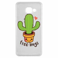 Чехол для Samsung A3 2016 Free Hugs Cactus