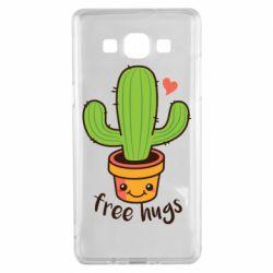 Чехол для Samsung A5 2015 Free Hugs Cactus