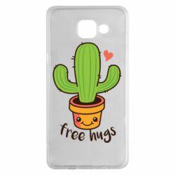 Чехол для Samsung A5 2016 Free Hugs Cactus