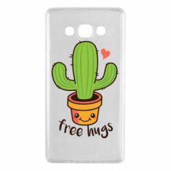 Чехол для Samsung A7 2015 Free Hugs Cactus
