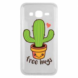 Чехол для Samsung J5 2015 Free Hugs Cactus