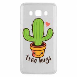 Чехол для Samsung J5 2016 Free Hugs Cactus