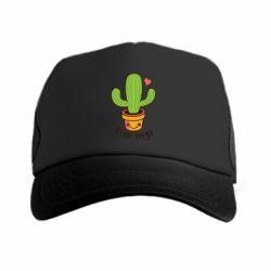 Кепка-тракер Free Hugs Cactus